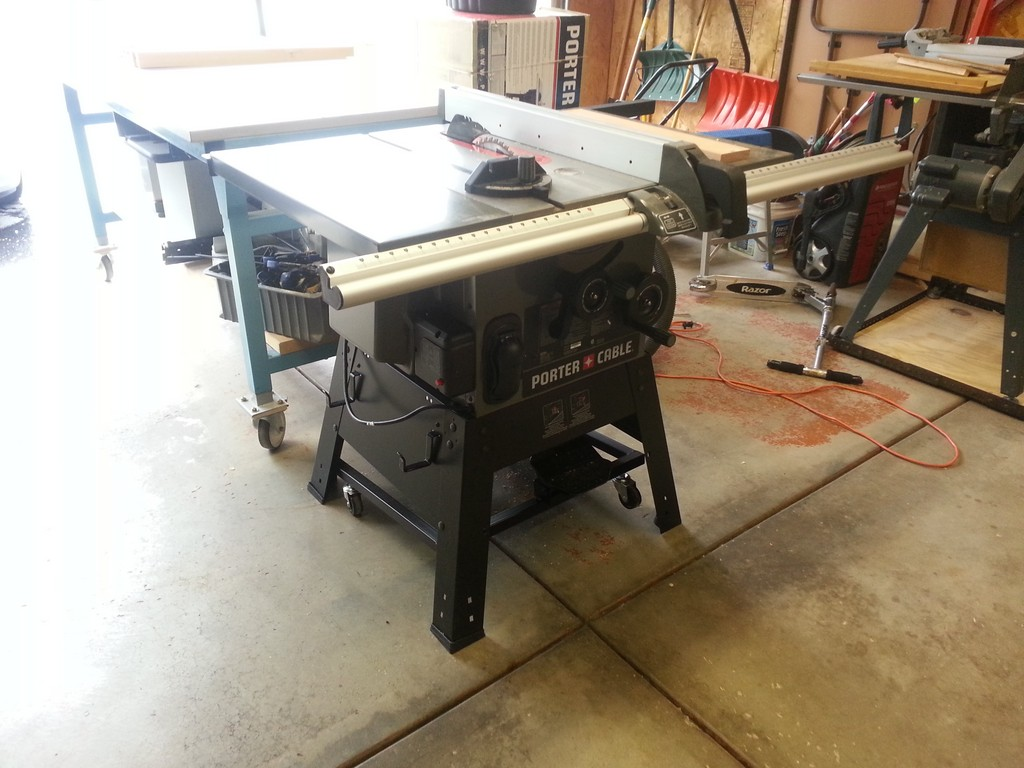 Porter Cable Table Saw The Workbench