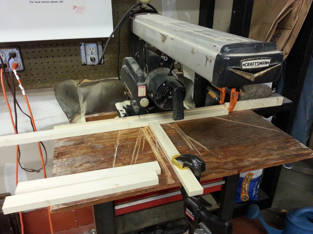 Radial Arm Saw - Safety Block
